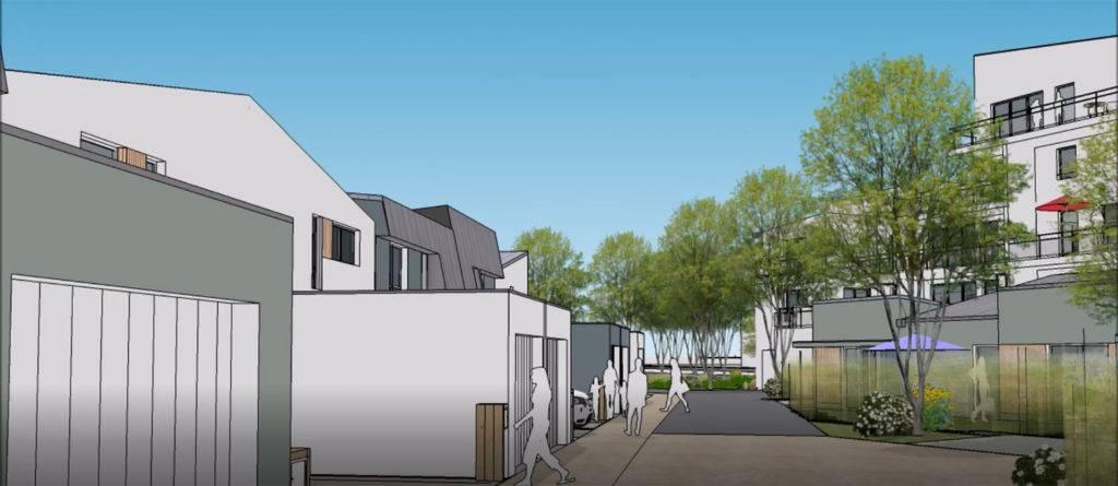 Démarrage des travaux de 13 maisons individuelles à Saint-Nazaire