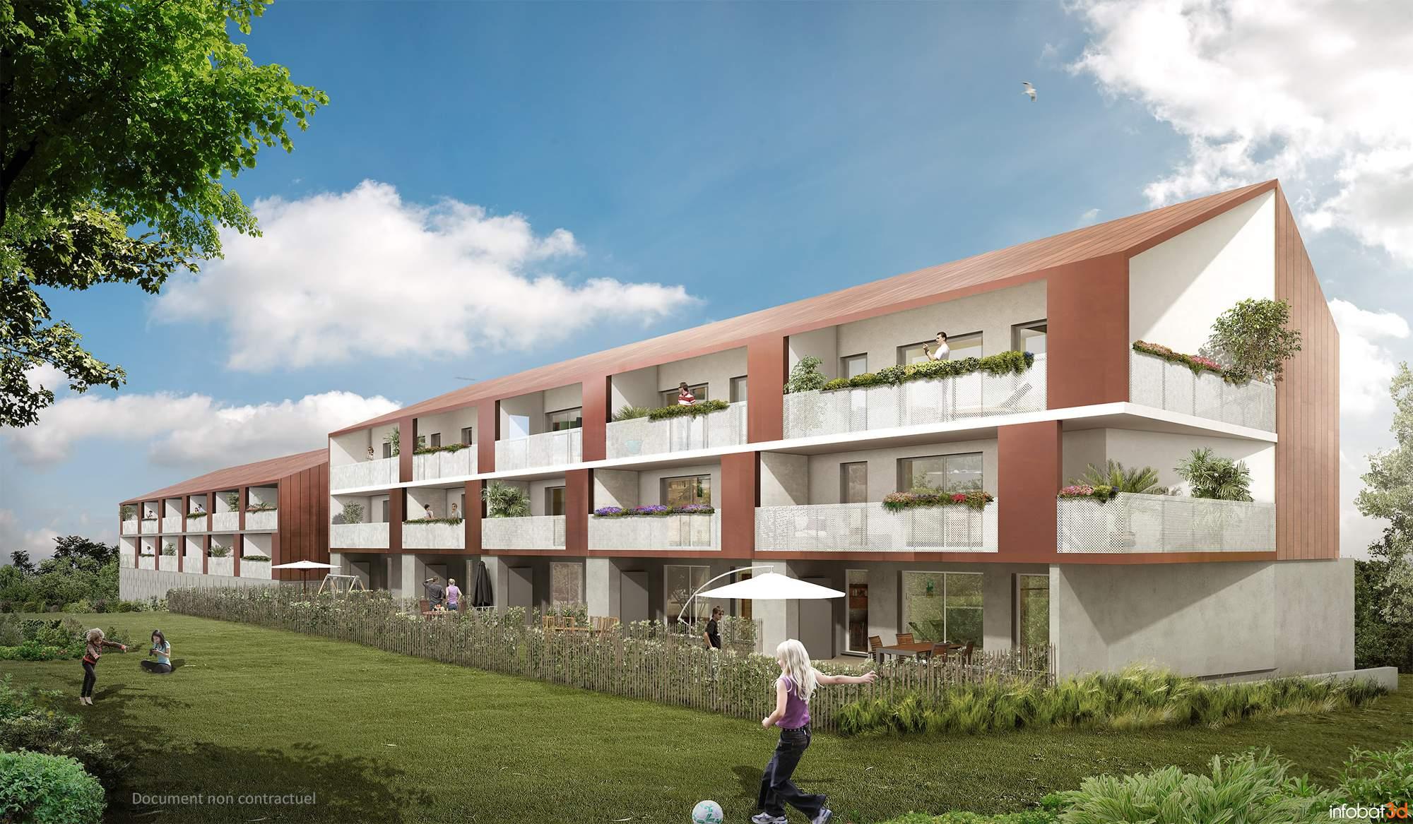 Lancement Commercial de Confluence , appartements sur Thouaré sur Loire