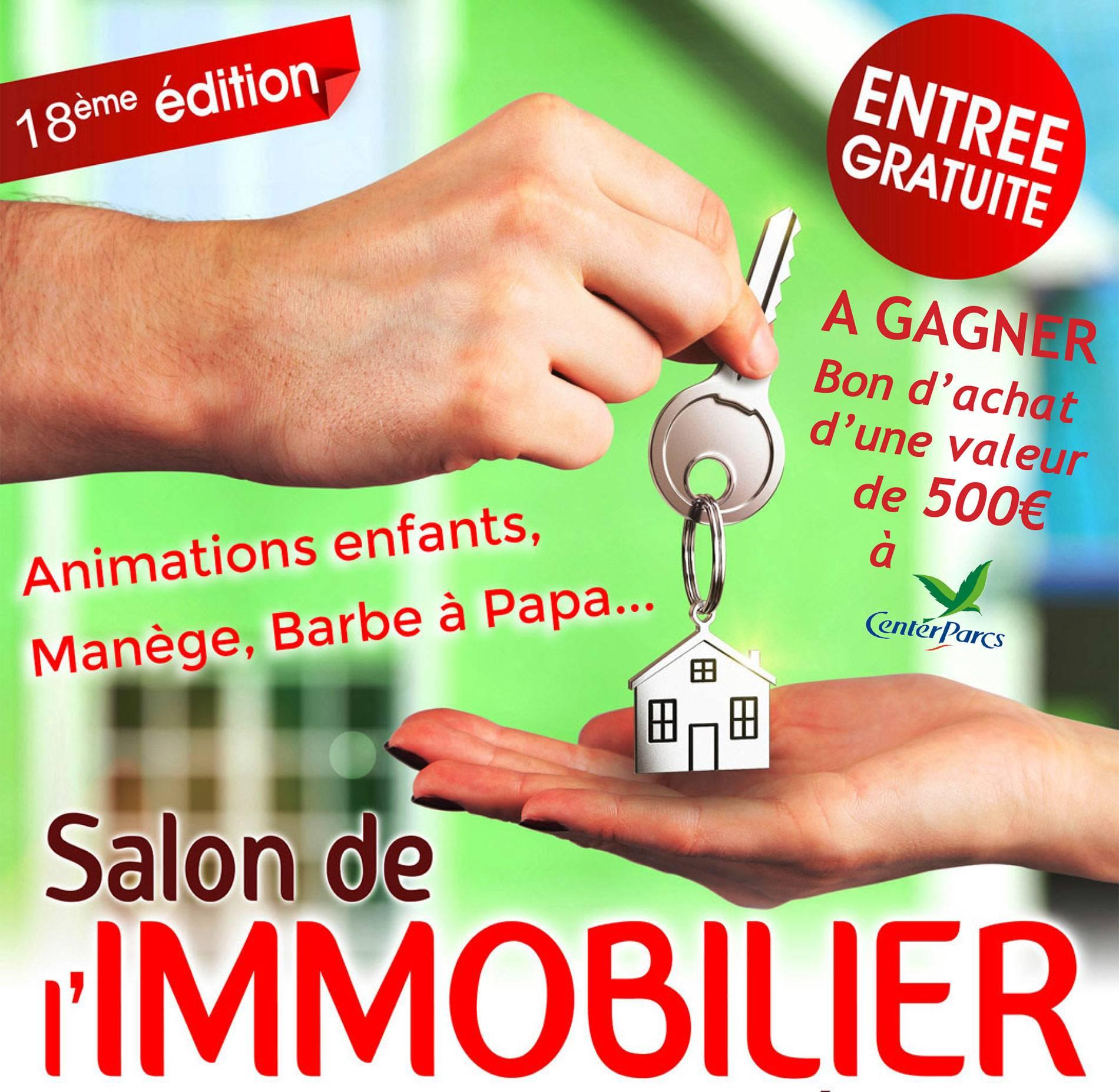 Salon de l'immobilier à Saint-Nazaire -Bon d'achat CenterParcs - CISN