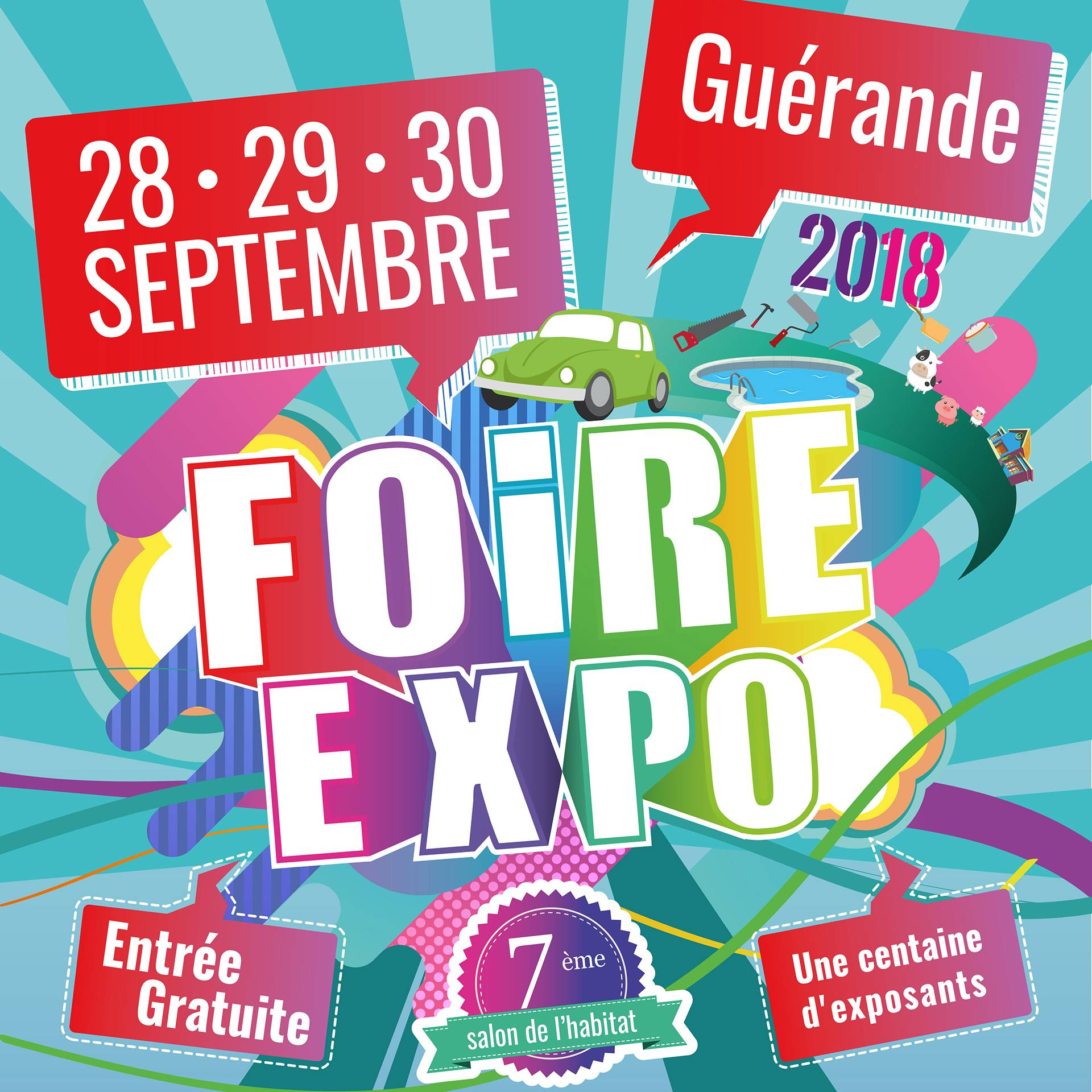 Retrouvez les intervenants du Cisn au Salon de l'Habitat et Foire Expo de Guérande le 28, 29 et 30 septembre 2018